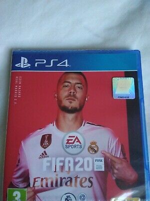Ps4 fifa 20 game NEW sealed packaging