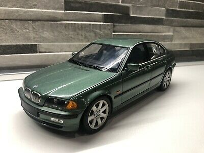 BMW 3 Series E46 Saloon 6 Cylinder UT Models Green 1/18