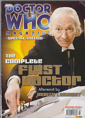 Doctor Who Magazine The Complete First Doctor William Hartnell