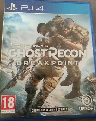 Ghost Recon Breakpoint PS4 Tom Clancys IN STOCK New and Sealed