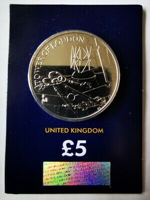 2019 The Tower Of London £5 Five Pounds Coin BU Uncirculated