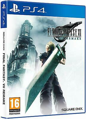 Final Fantasy 7 Vii Remake Ps4 Eu Nuovo Sigillato Ita Ff7 Cloud Strife Preordine
