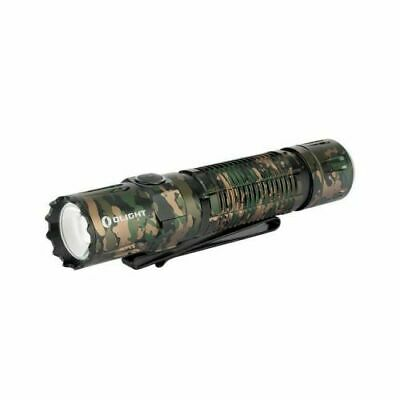 Olight M2R PRO Warrior Rechargeable LED Tactical Flashlight, NIB, Camo Limited
