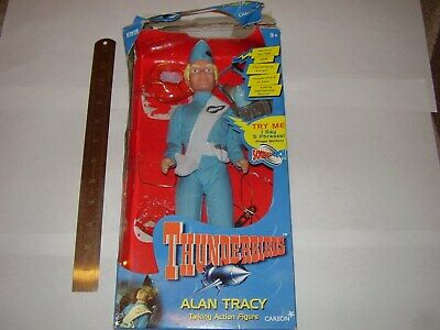 THUNDERBIRDS SCOTT TRACY BOXED ACTION FIGURE MADE IN 1999 XP