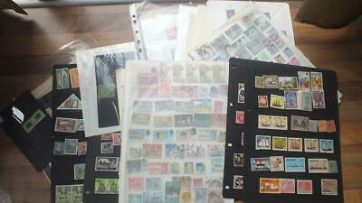 Gb& British Commonwealth   Mint And Used   Nice High Cv Stamps   Collection