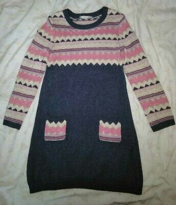 John Lewis Girls Jumper Dress Age 8 Years Ans Años Jahre EUR 128cm chest 62cm