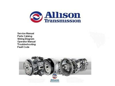 Allison Transmission Manual -ALL Series-All Generation-Fast download