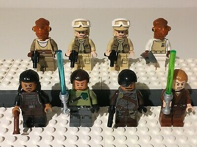 Lego Star Wars Rebellen Figuren, Kanan, General Ackbar