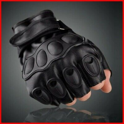 Gloves Outdoor Tactical Military Army Finger Half Hard Knuckle Motorcycle Hunt