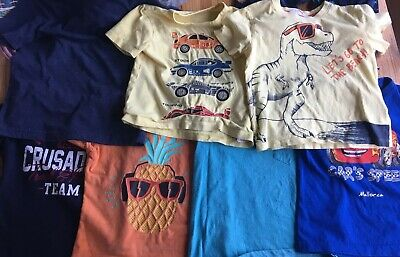 Job Lot Of Boys T-shirts . Age 2-4. Primary, H&M, Gap