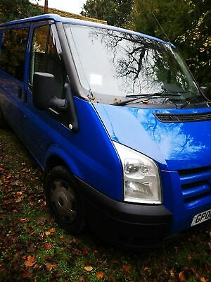 Transit van, 6 seat's, twin side loading doors