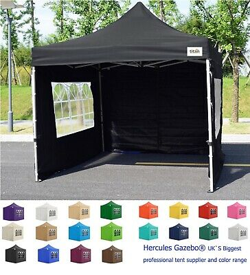 NEW TITAN® HEX 40 HEAVY DUTY EZ 1 MINUTE POP UP MARQUEE STRONG STEEL FRAME 3 x 3
