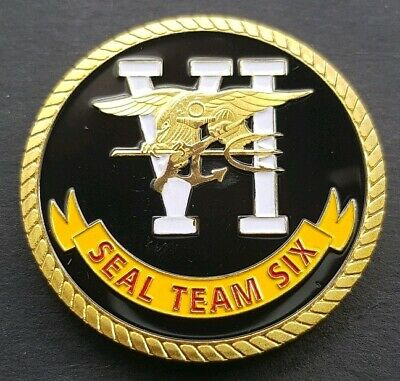 SEAL THEM 6 Challenge Coin FREE COIN STAND AND BRAND NEW FITTED COIN CAPSULE