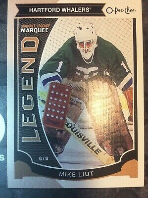 UD O-Pee-Chee 2015-2016 MARQUEE LEGENDS MIKE LIUT HOCKEY CARD #590