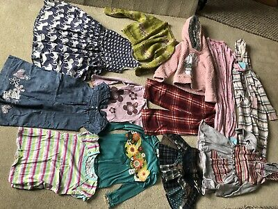 12 x Girls Clothes bundle age 4-5 Years (inc Next/M&S) (x)