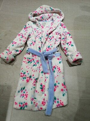 Joules Girl's Dressing Gown Beautiful Age 9-10 Years
