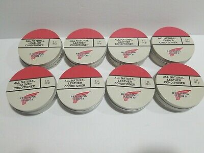 Red Wing Heritage All Natural Leather Conditioner Lot of 8 New 3oz Tins