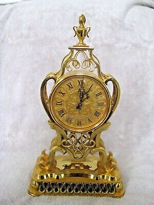 IMHOF Mantel clock with 8 days Swiss Jewel movement and striking function