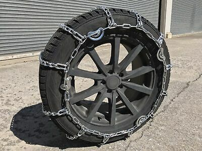 Snow Chains 9.50-16.5, 9.50 16.5 Cam Tire Chains, w/ Spider Tensioners