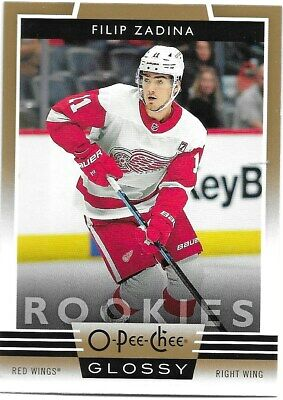 19-20 2019-20 UD Tins Only Filip Zadina OPC COPPER Glossy ROOKIE #R-5 Red Wings