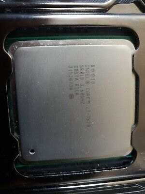 intel i7 3820 with Gigabyte motherboard