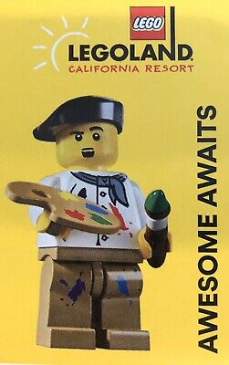 4 Pack of LEGOLAND California Physical Tickets Adult Or Child. Expire 11/23/20