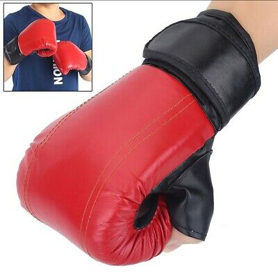 Adult Boxing Gloves MMA Sparring Kickboxing Punch Bag Boxer Training Gear 1 Pair