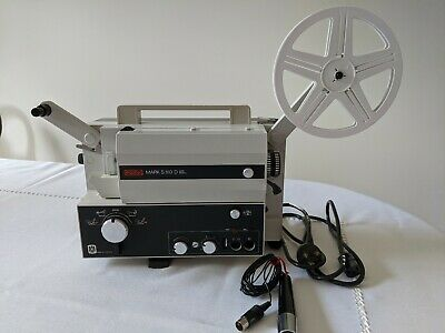 Eumig S-810 D Super 8Mm & Standard 8Mm Sound Movie Projector