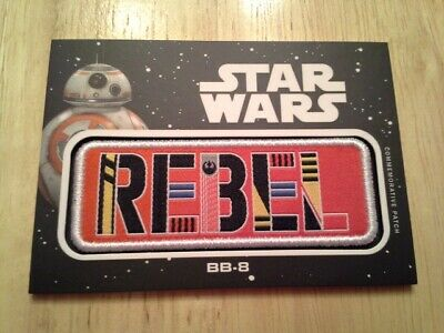 Star Wars Journey to The Rise of Skywalker Jumbo Patch Card BB-8