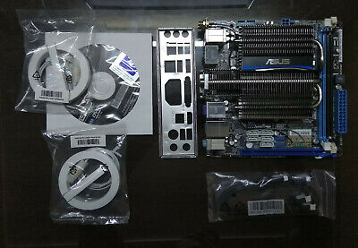 ASUS E45M1-I DELUXE DDR3 SATA3 USB3 Motherboard  in good condition!!!