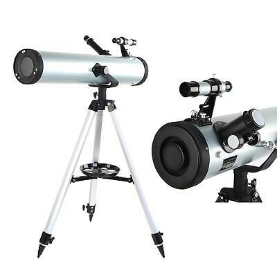 New 700-76 Reflector Astronomicals Telescope Performance White UK FAST DELIVERY