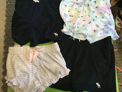 Job lot girls 4 x pairs of shorts age 15-16 Abercrombie/one brand new