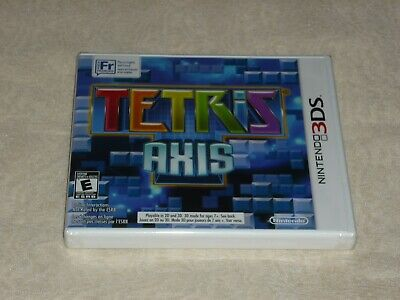 Tetris Axis  (Nintendo 3Ds, 2011) Brand New & Sealed