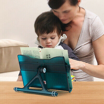 Reading ABS Students Book Stand Document Cookbook Rack Holder Stretchable Arm