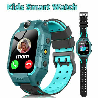 Bluetooth Smart Watch GPS GSM Touch Tracker SOS for Kids Children + Camera Gifts