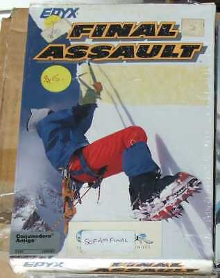 Final Assault by Epyx for the Commodore Amiga vintage computer