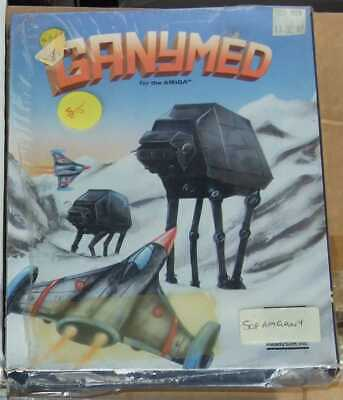 Ganymed game for the Commodore Amiga vintage computer