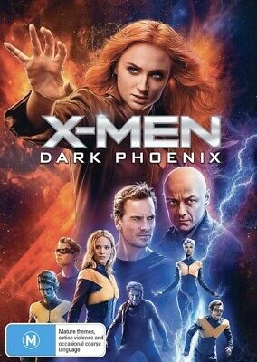 X-MEN:Dark Phoenix-DVD-Region 4-New AND Sealed