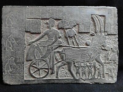 EGYPTIAN ANTIQUE ANTIQUITIES Ramses II After Victory Stela Stele 1244-1274 BC