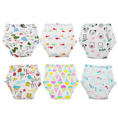 Baby Boys Girls Kids Toilet  Pants Cloth Underwear Nappy