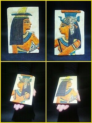 EGYPTIAN ANTIQUE ANTIQUITY Two Different Sides Drawings Stela 1549-1298 BC