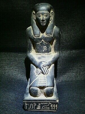 EGYPTIAN ANTIQUES ANTIQUITY Kneeling Statue Of Pepy I Figure 2338-2298 BC