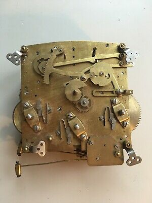 Large Perivale And Gebruder Peterson Clock Movements For Spares Or Repairs