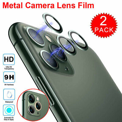 For iPhone 11 Pro Max HD Tempered Glass Camera Lens Screen Protector Lens Film