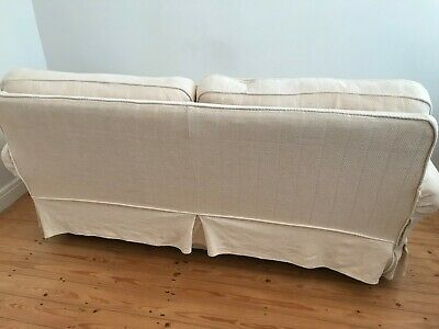 Laura Ashley Large Two Seater Sofa With