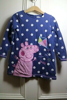 ♡ MotherCare Peppa Pig 2-3 Years 100º Cotton  Dress  ♡