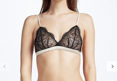 Somerset by Alice Temperley Coco Lace Briefs Black//Nude Size L New with Tags UK