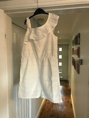 John Lewis Girls Age 11 Outfit. All In One Short Jumpsuit. White