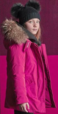 -25% WOOLRICH Luxury arctic Parka Gr. 128/8Y~magenta~NP 490€~NEW