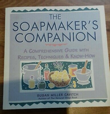 Soap Making Book, Susan Miller Cavitch